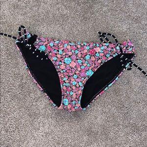 Roxy swim floral print bikini bottom